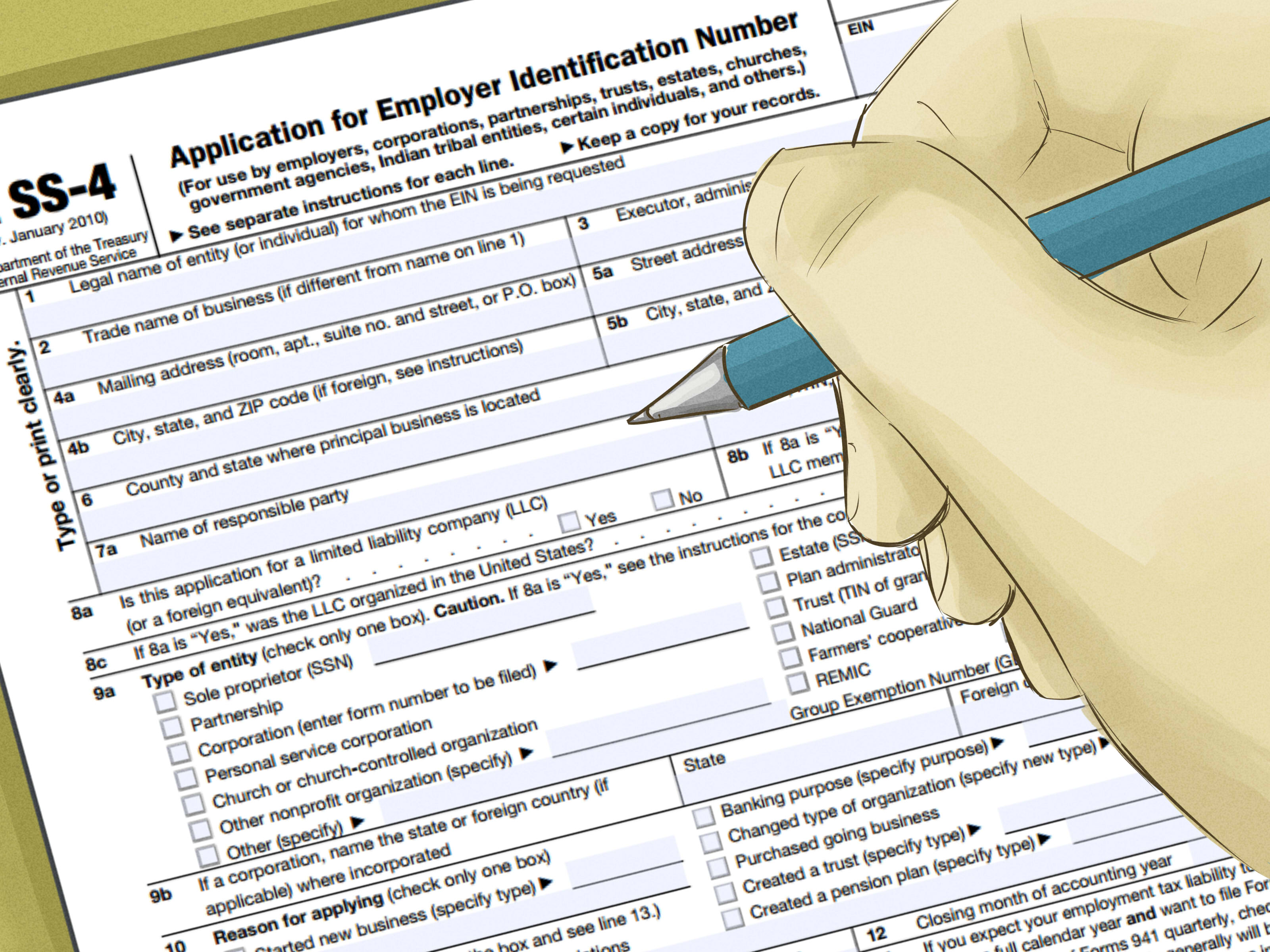 4 Ways To Find A Federal Tax Id Number