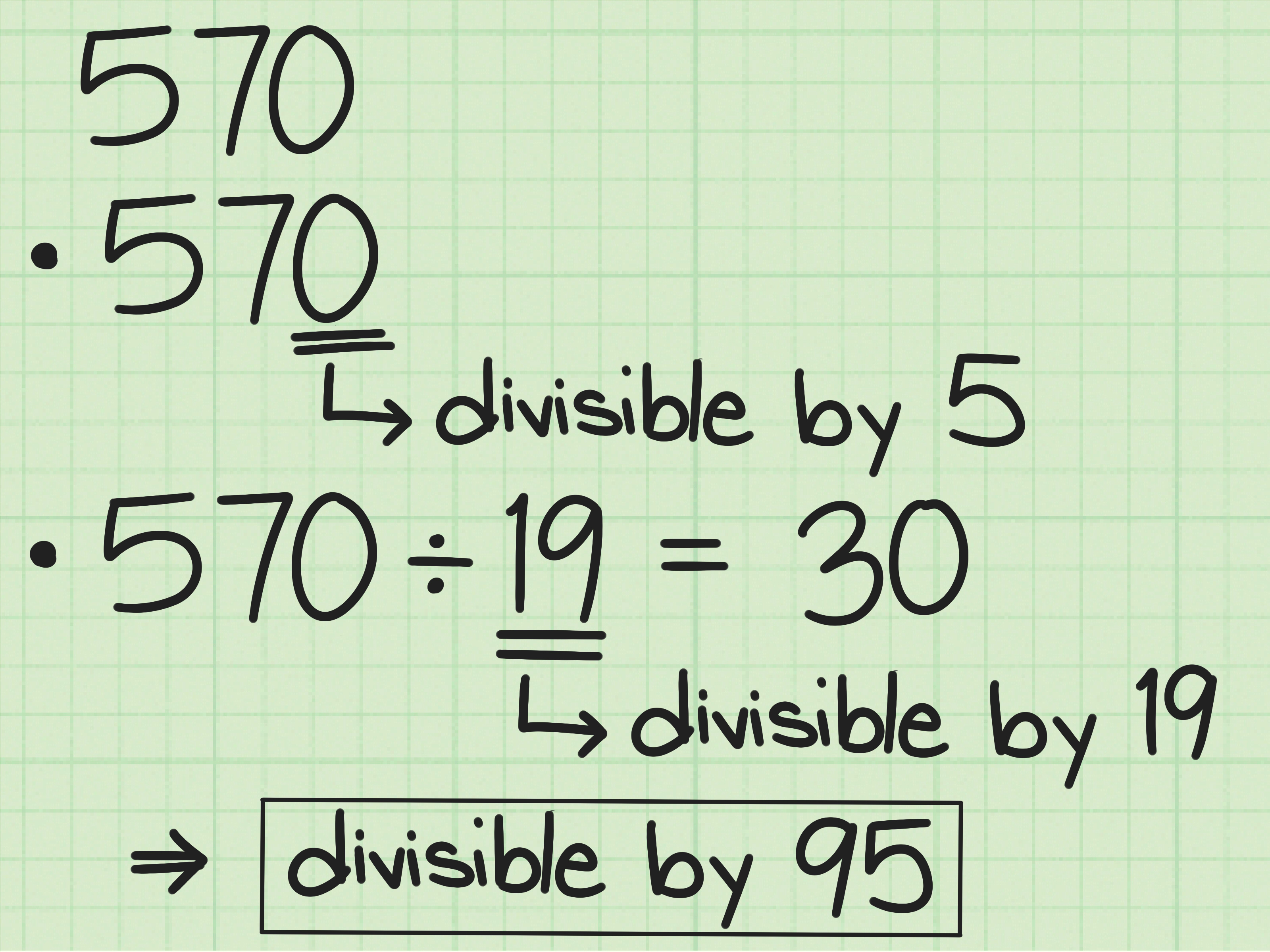 4 Ways To Check Divisibility By Two Digit Multiples Of 5