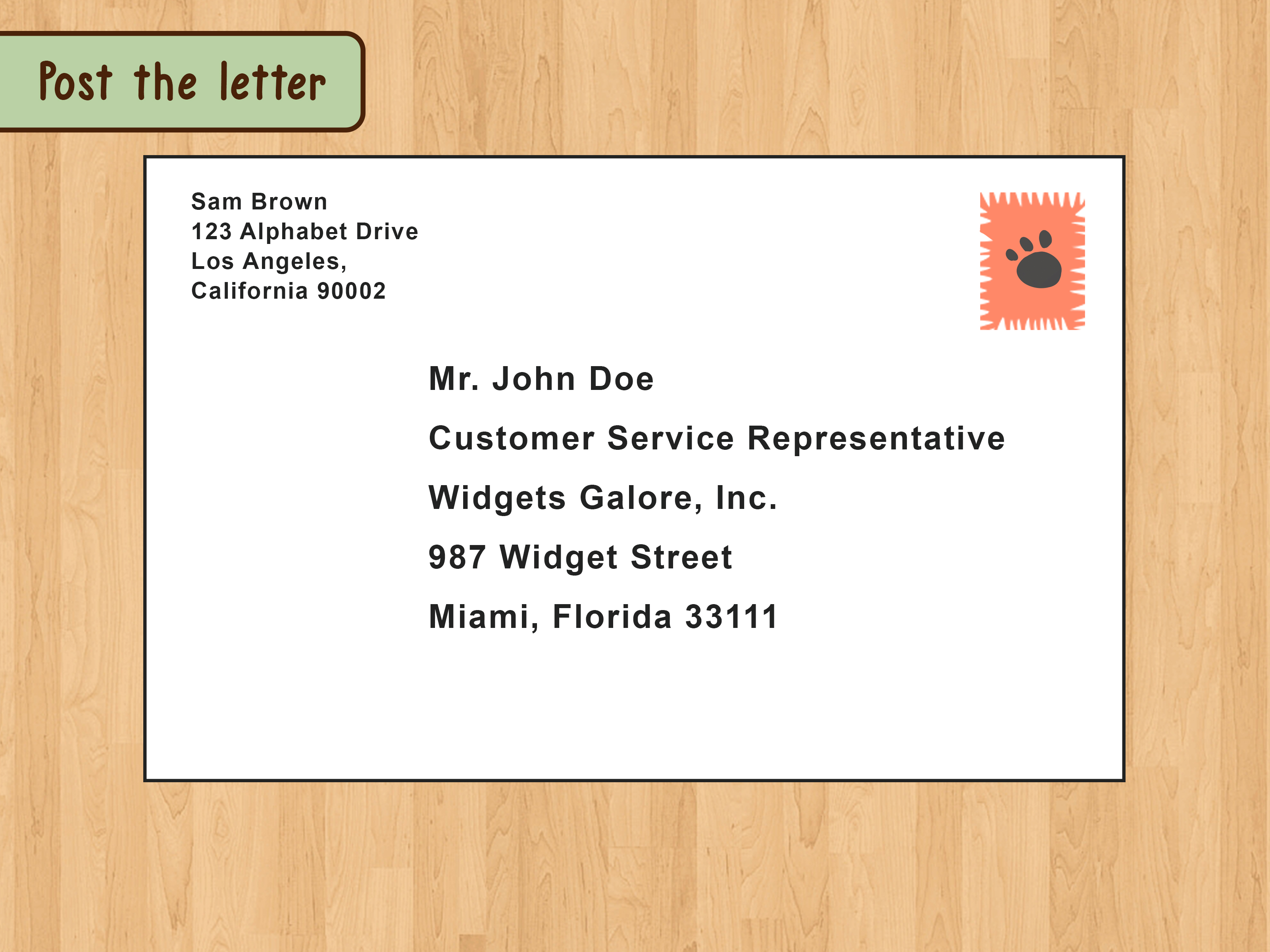 How To Write A Business Letter With Pictures