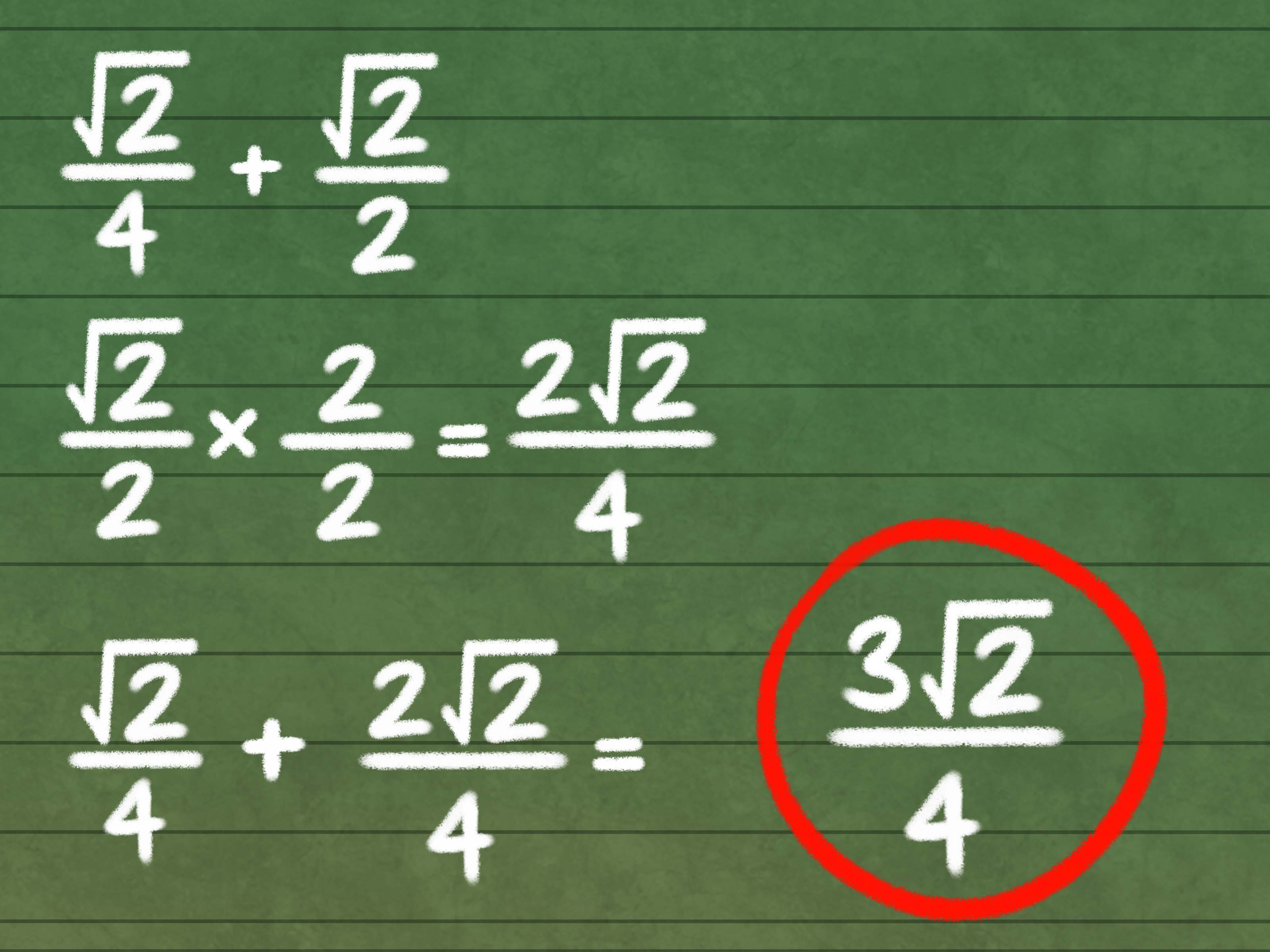 How To Add And Subtract Square Roots 9 Steps With Pictures
