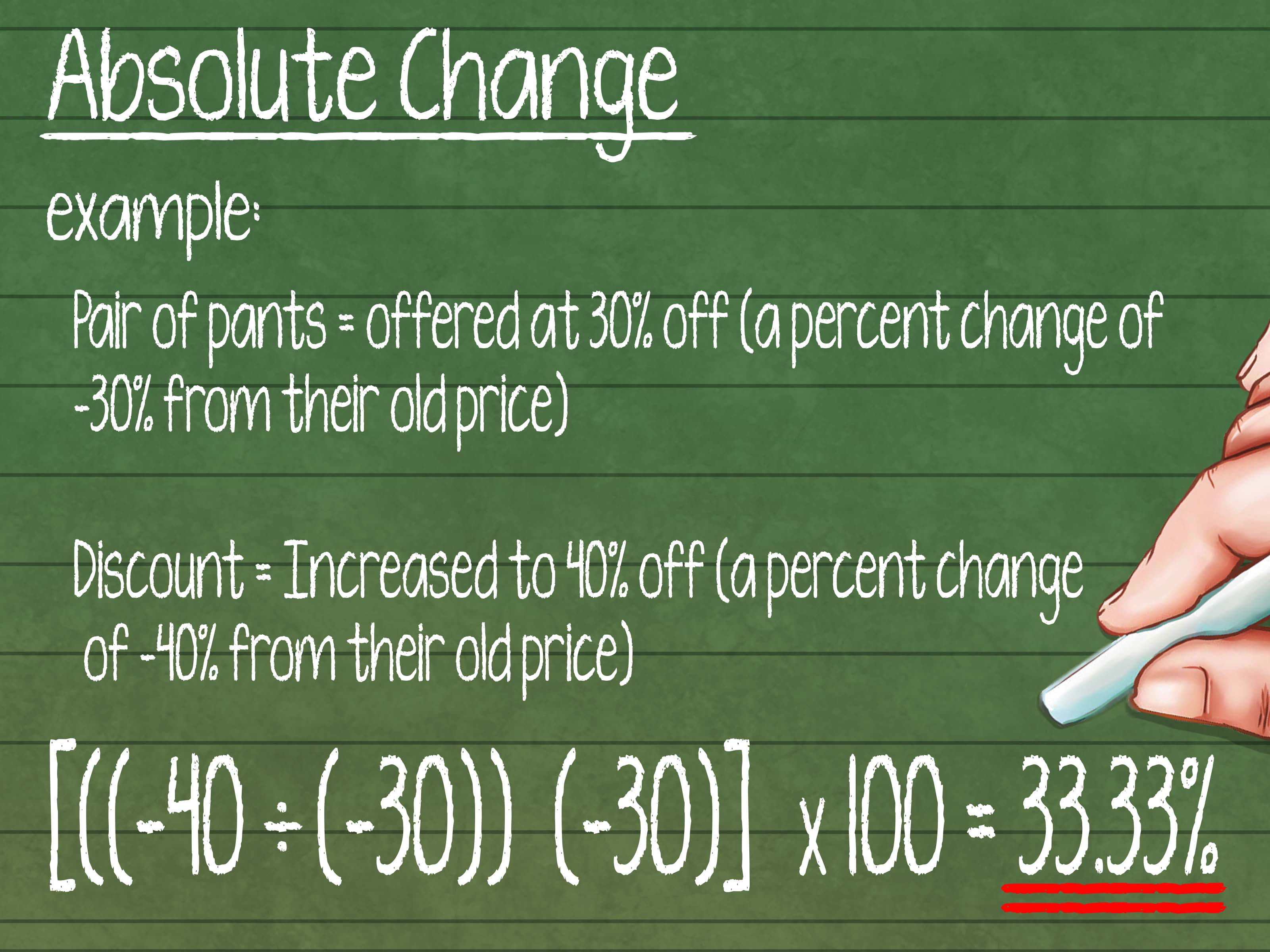 How To Calculate Percent Change With Calculator