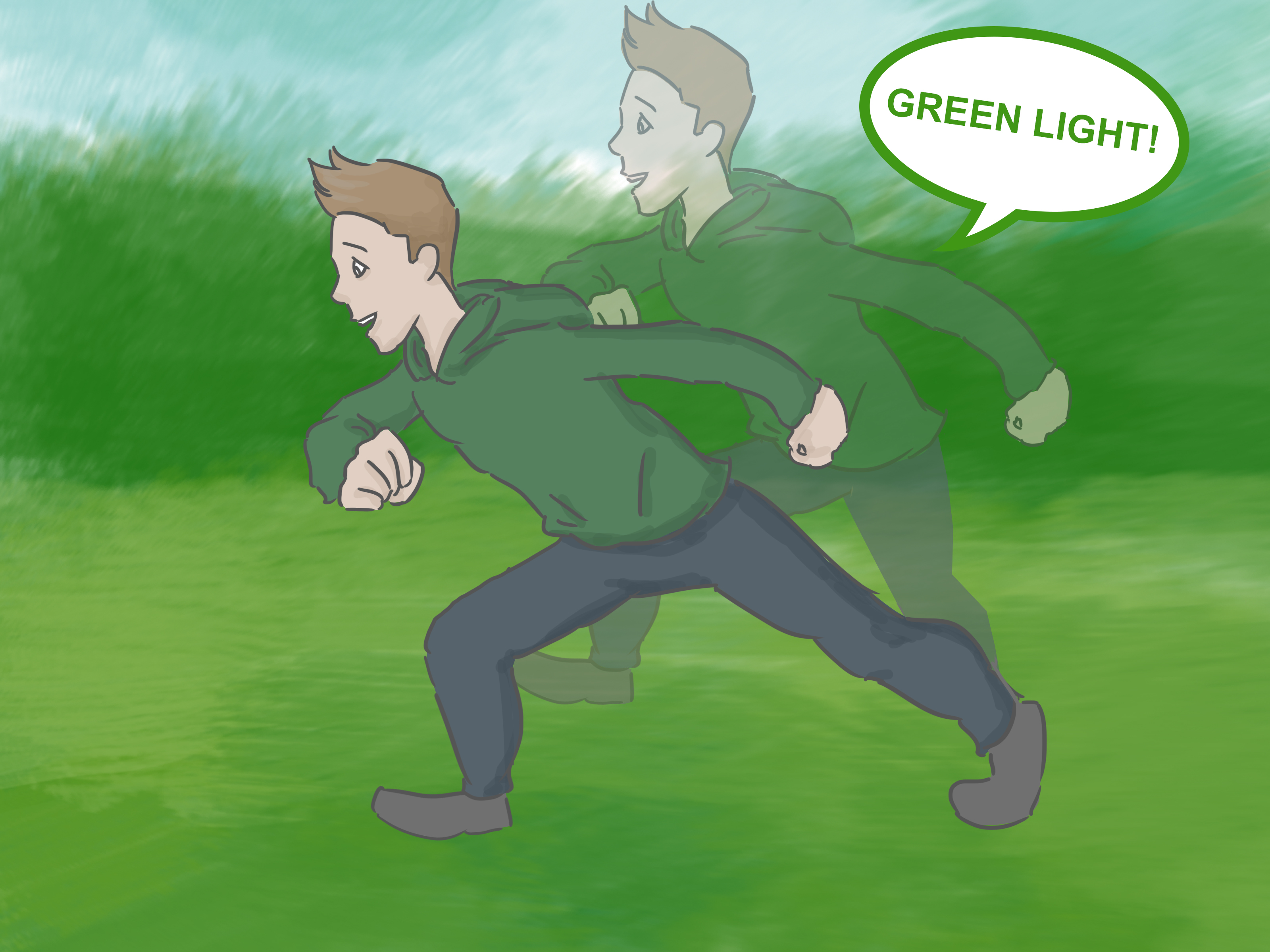 How To Play Red Light Green Light 14 Steps With Pictures