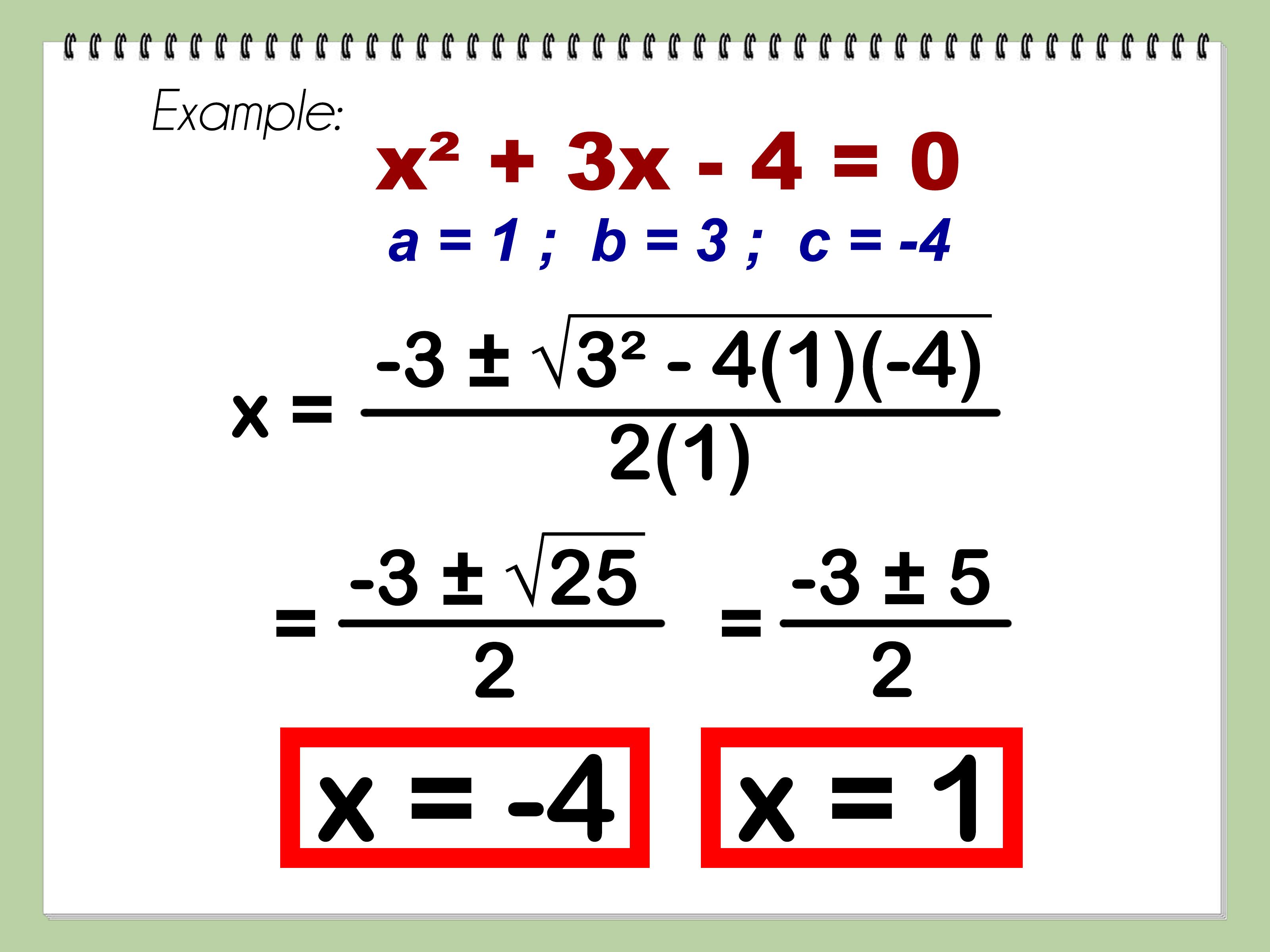 Como Encontrar As Raizes De Uma Equacao Quadratica