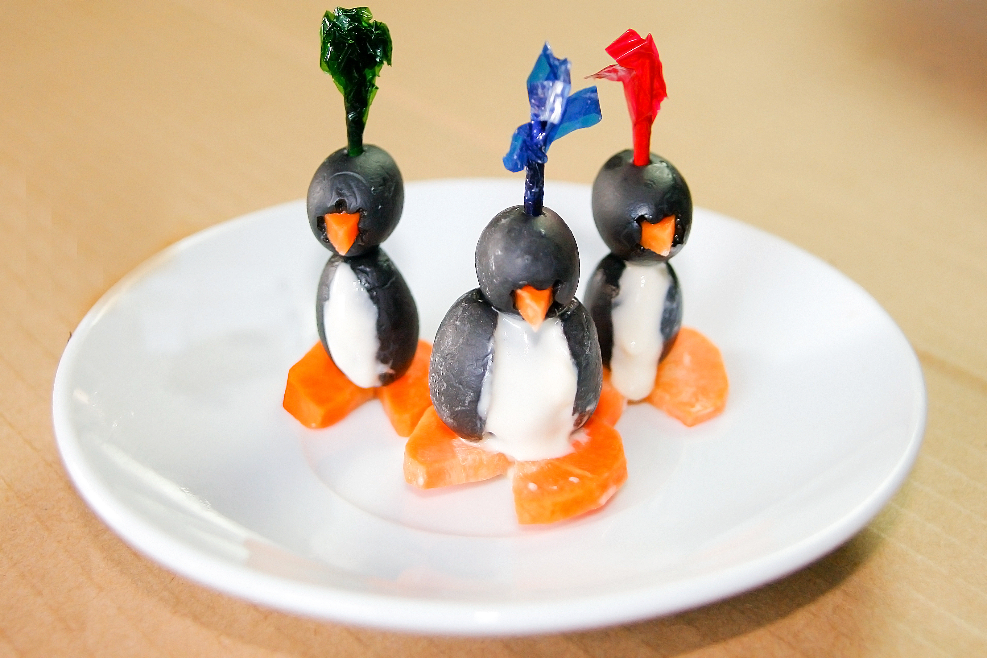 How To Make Penguins Out Of Food 11 Steps With Pictures
