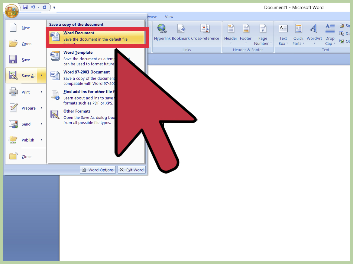 How To Use Microsoft Word With Pictures