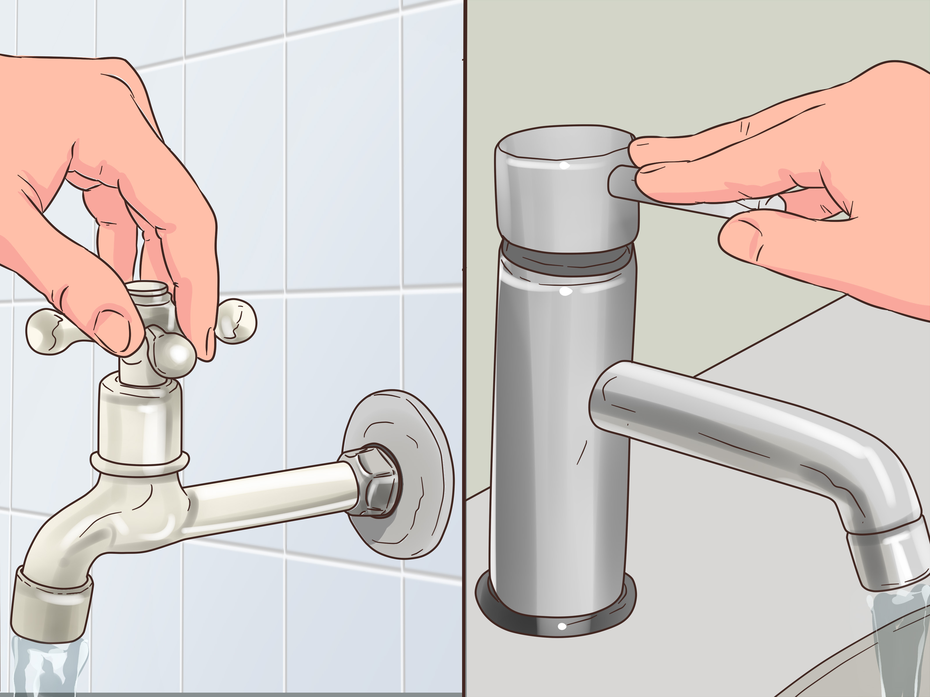 5 ways to turn water back on wikihow