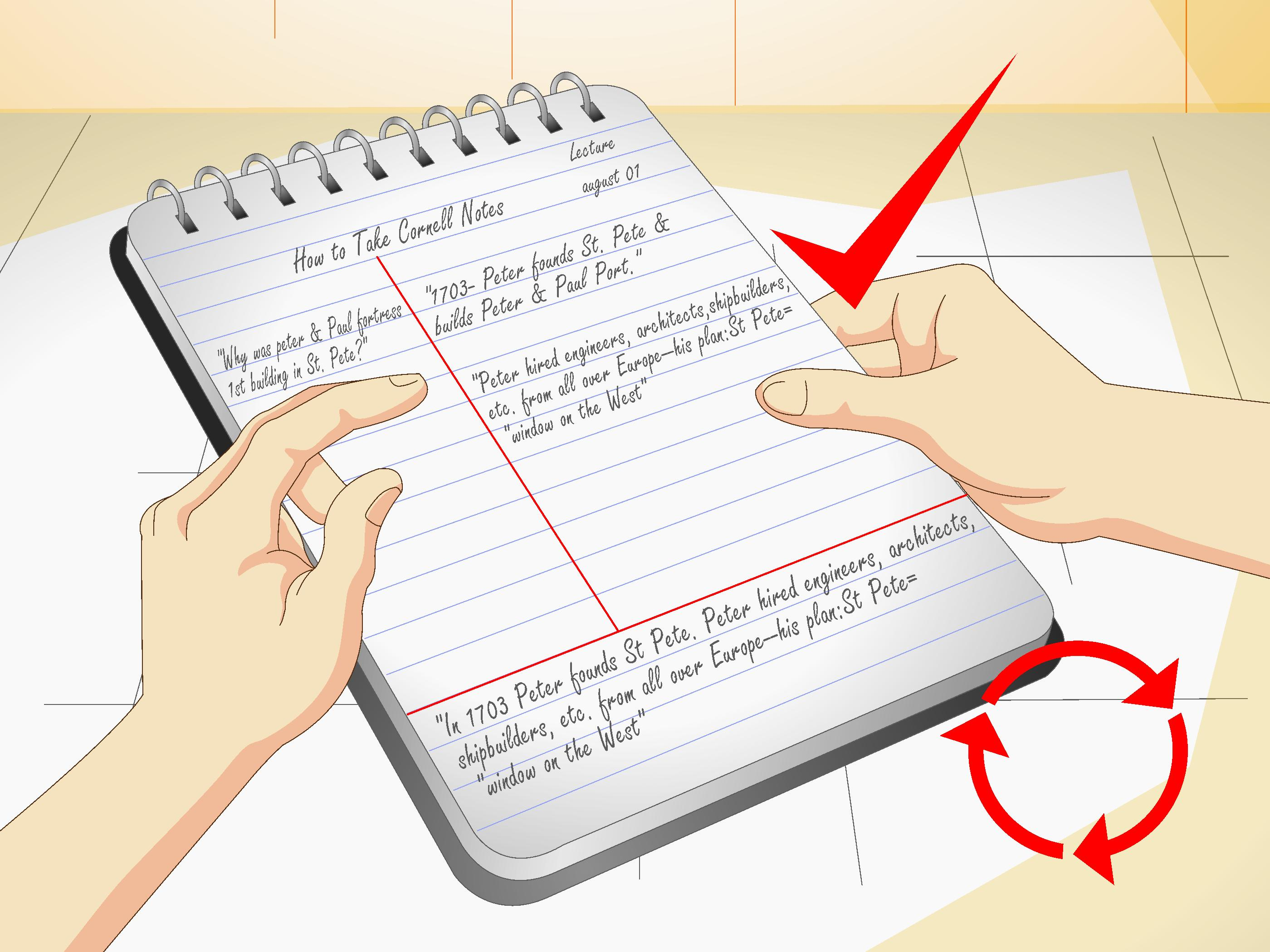 How To Take Cornell Notes With Pictures