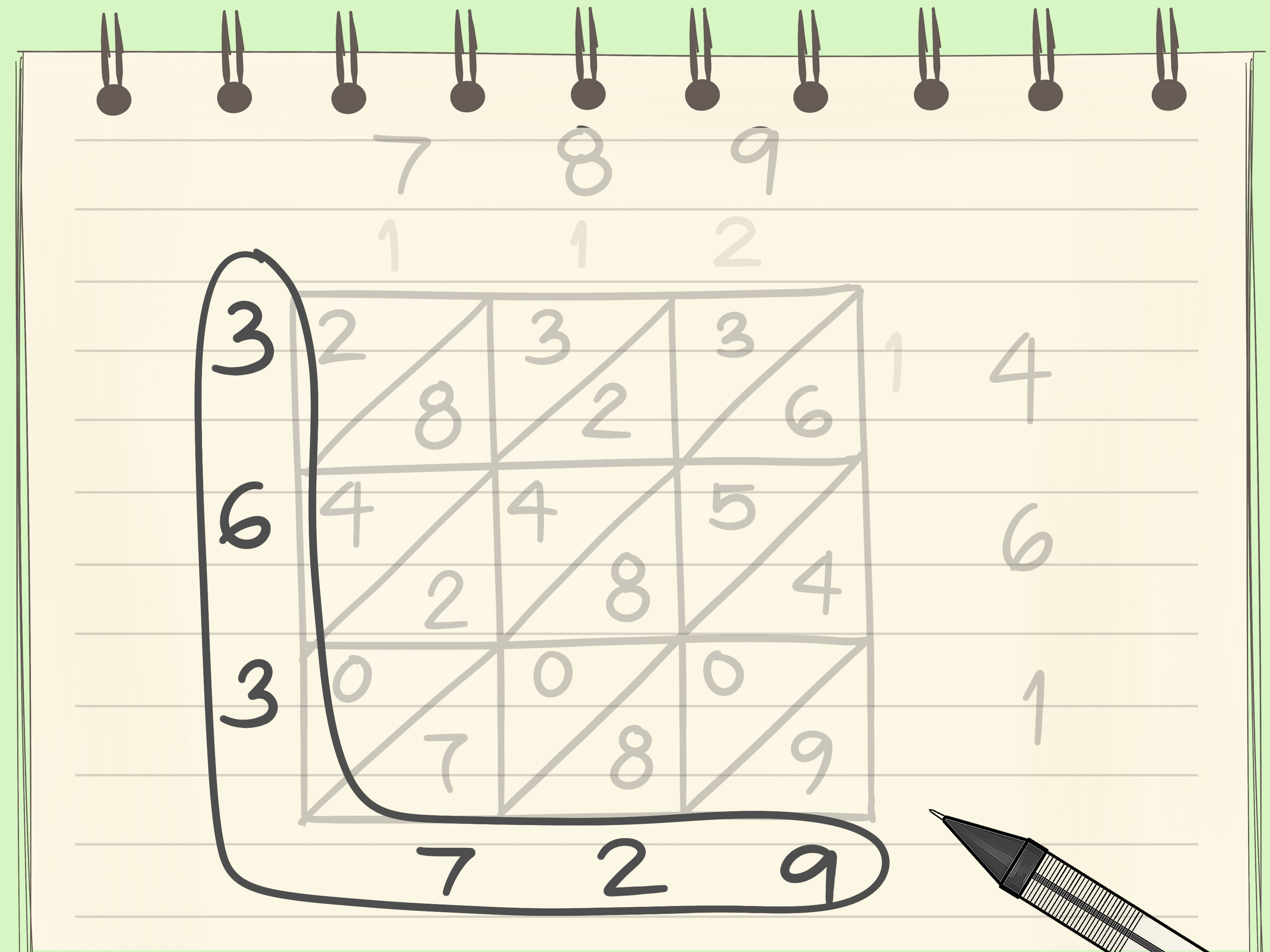 How To Do Lattice Multiplication 6 Steps With Pictures