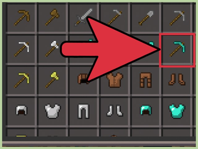 17 Ways to Make a Pickaxe on Minecraft - wikiHow
