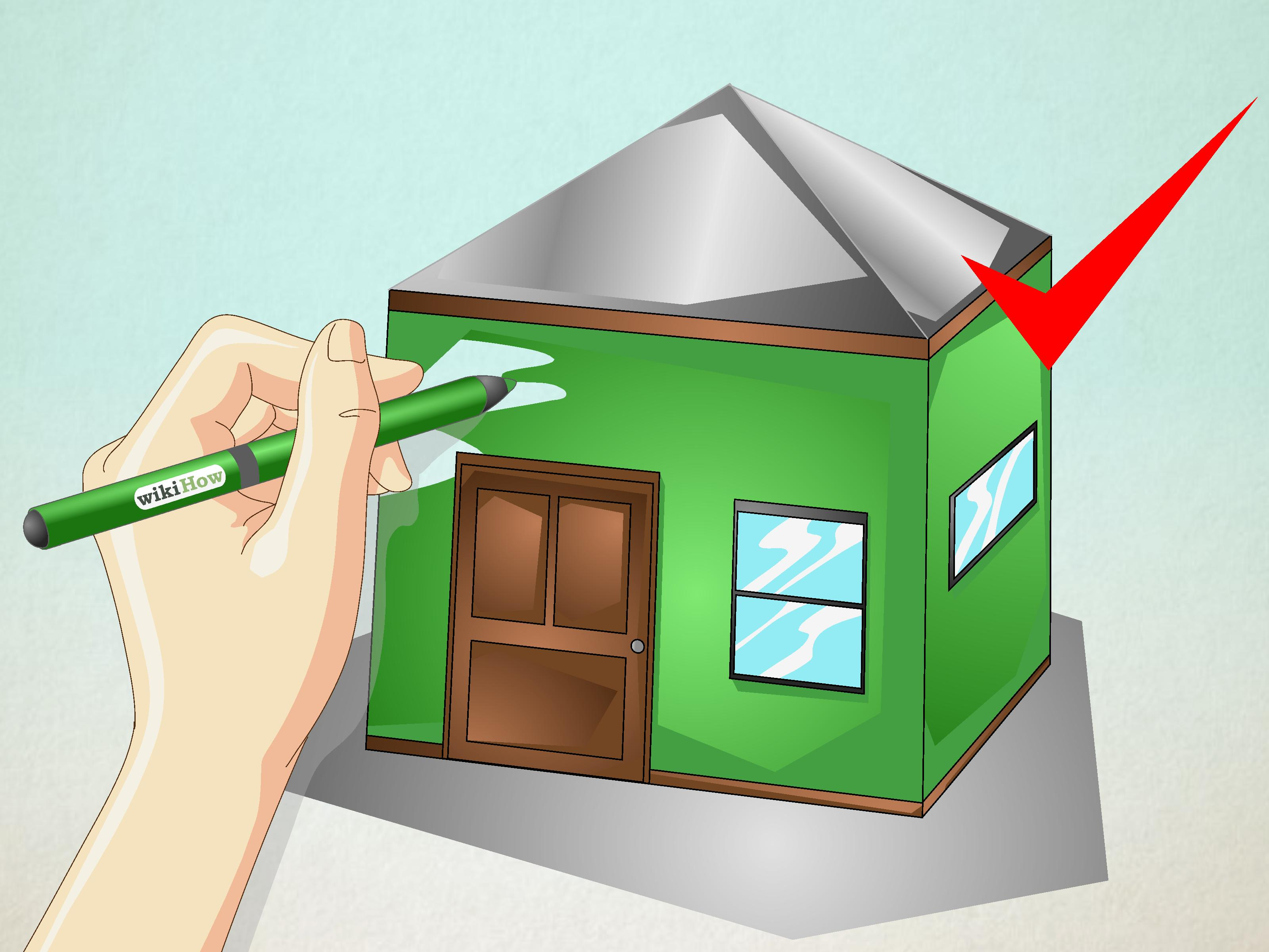 3 Ways To Draw A Simple House