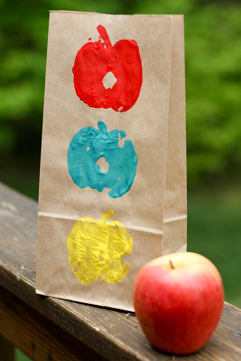 How To Craft Apple Stamps 9 Steps With Pictures Wikihow
