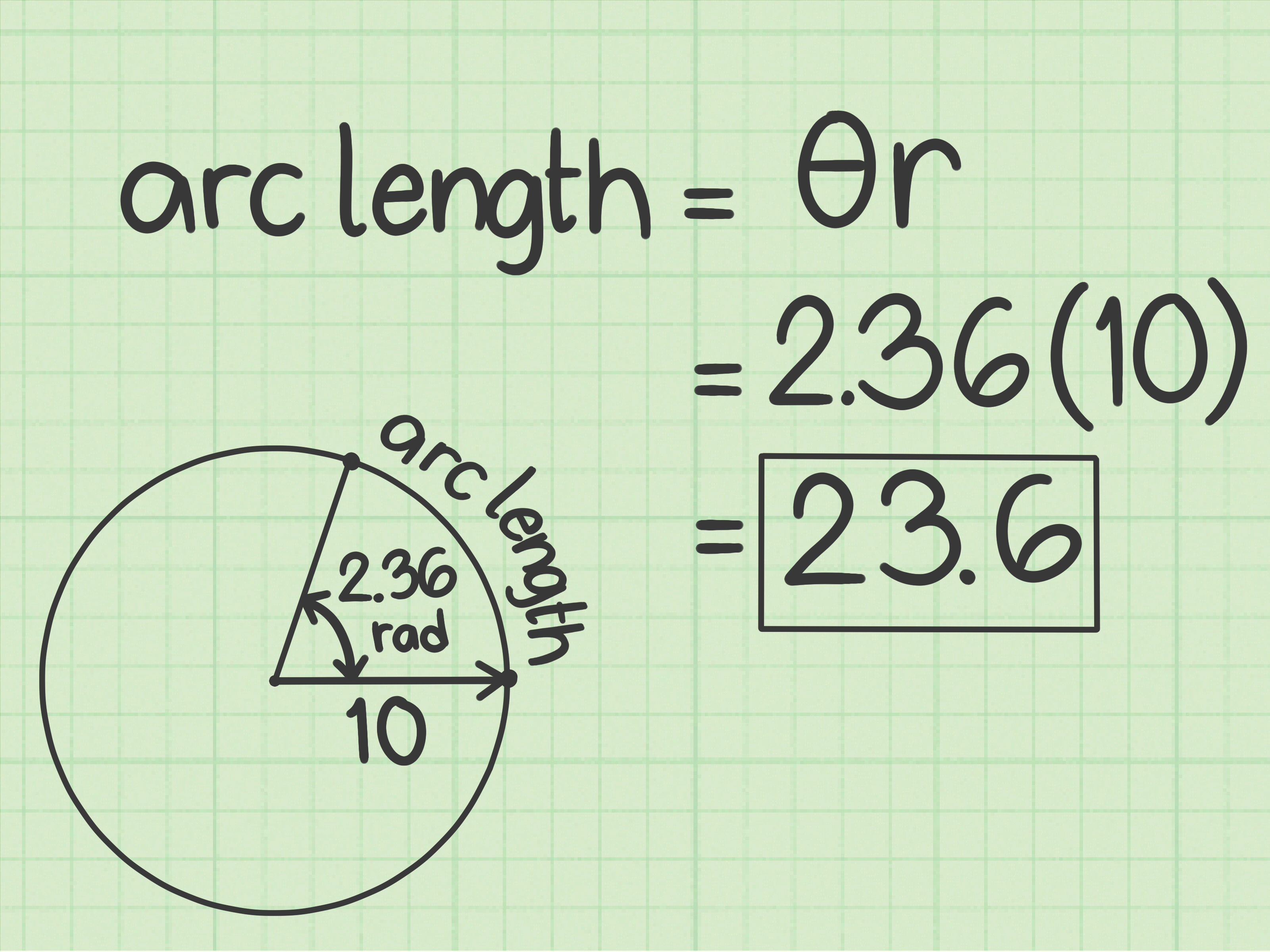 How To Find Arc Length 10 Steps With Pictures