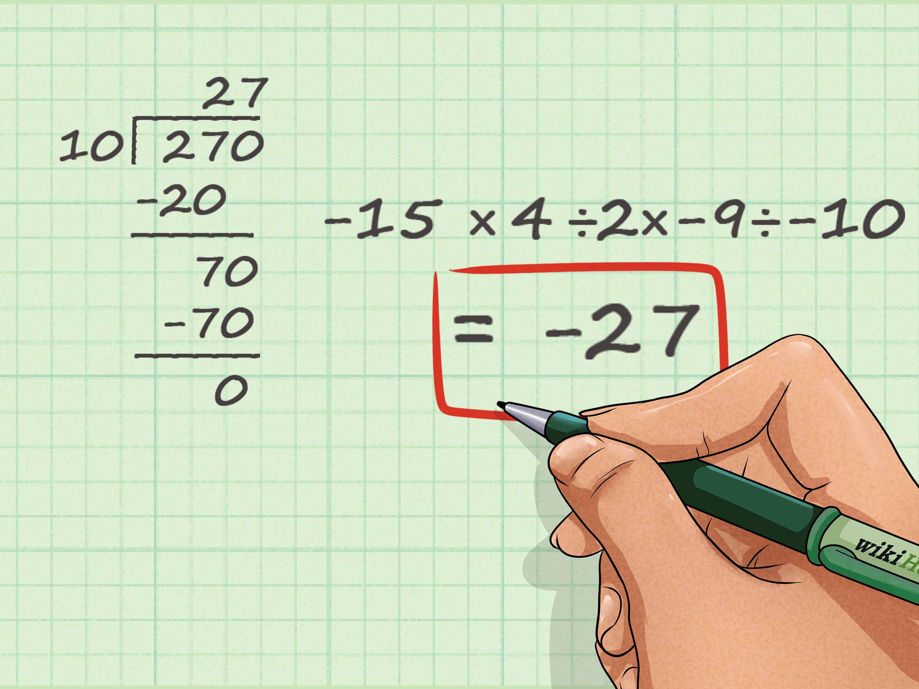 Comment Multiplier Et Diviser Des Nombres Entiers Relatifs