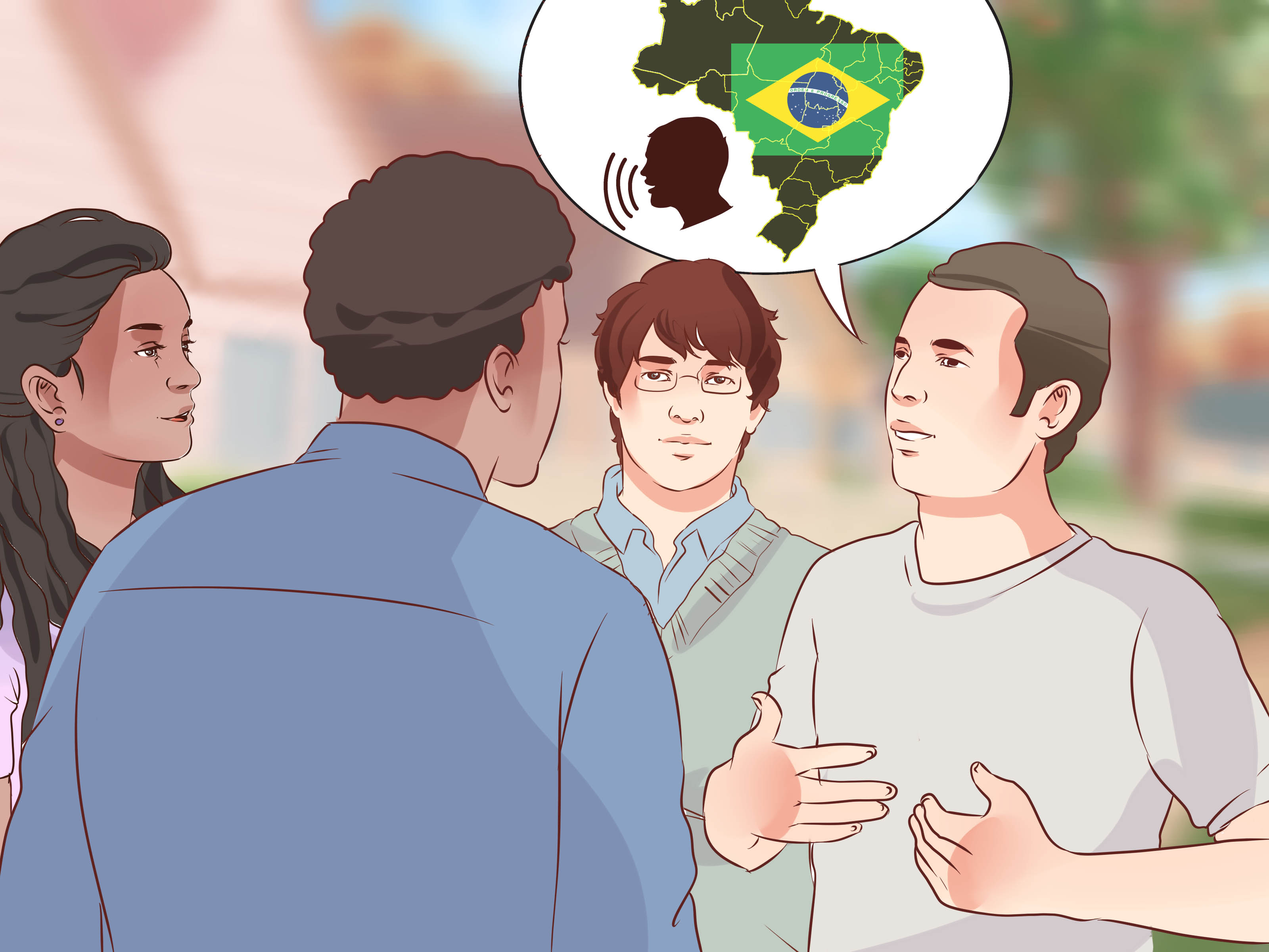 How To Speak Brazilian Portuguese With Pictures