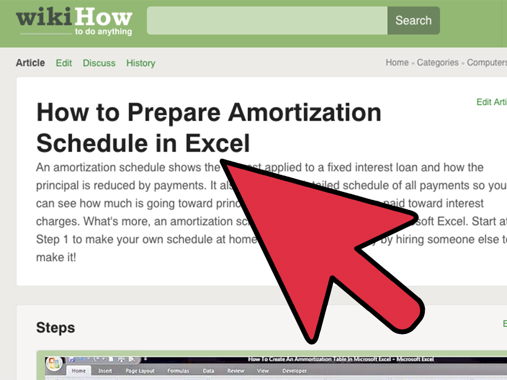 How To Create An Excel Spreadsheet Annual Budget