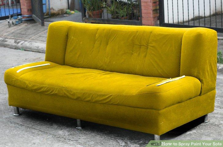Image Led Spray Paint Your Sofa Step 11