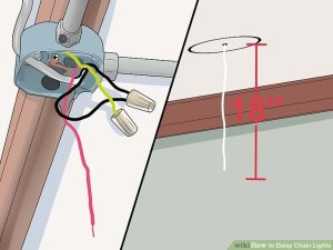How to Daisy Chain Lights (with Pictures)  wikiHow