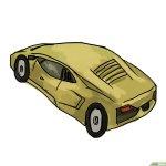 How To Draw A Lamborghini Wikihow