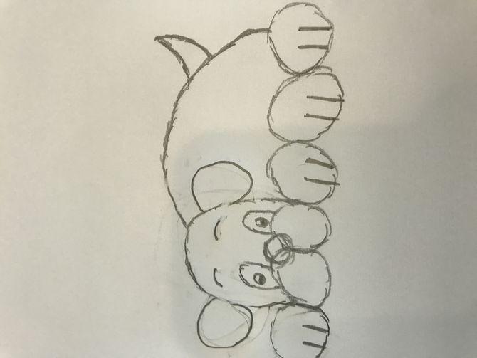 Cute Cartoon Draw Frog