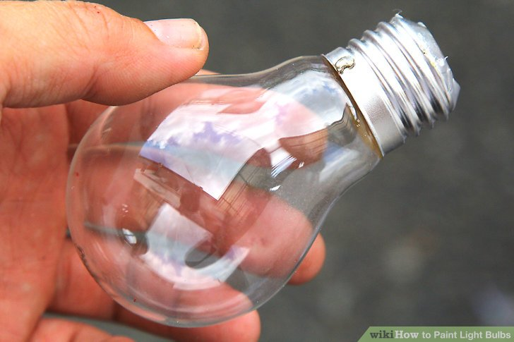 Can You Spray Paint Light Bulbs
