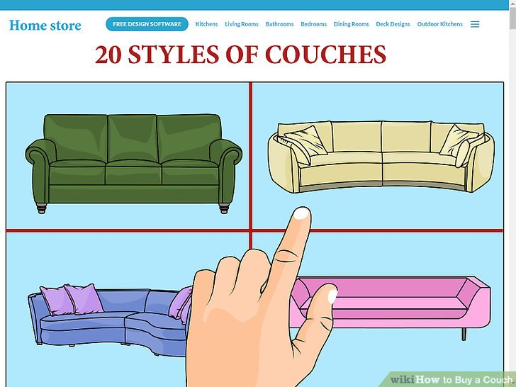 Image Result For How To Buy A Couch Steps With Pictures Wikihow