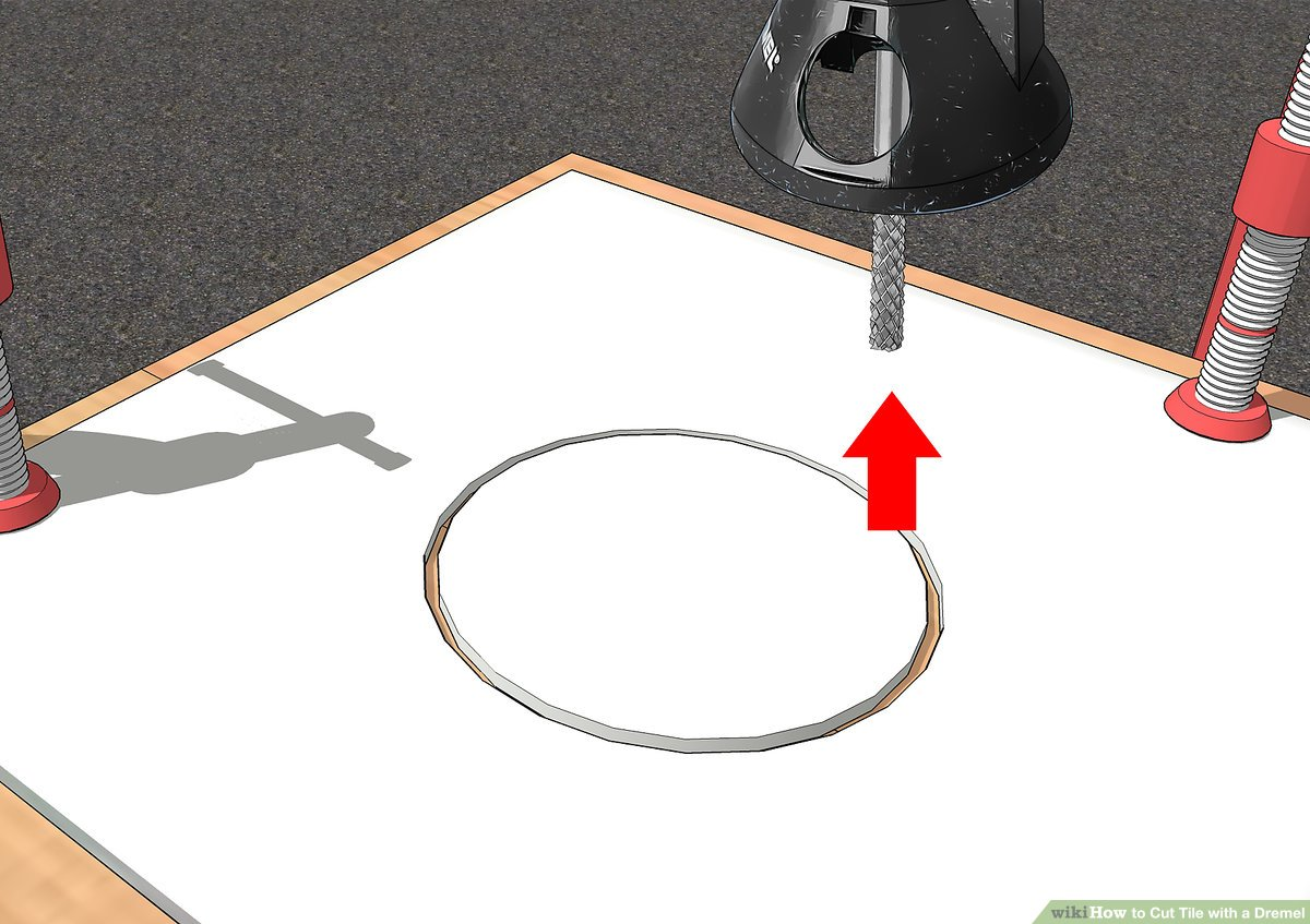 easy ways to cut tile with a dremel 12