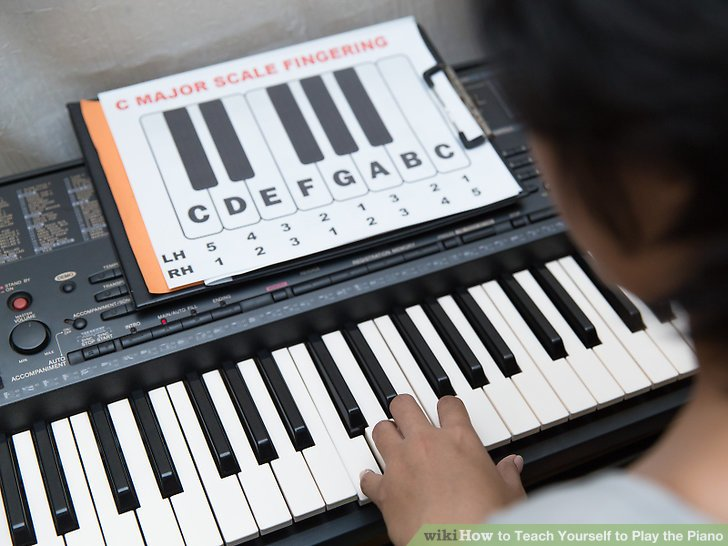3 Ways to Teach Yourself to Play the Piano - wikiHow