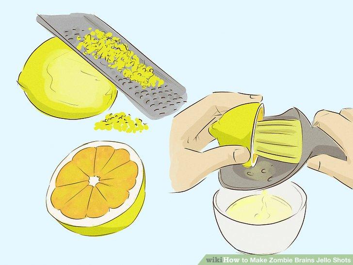 How Make Lemon Zest Grater