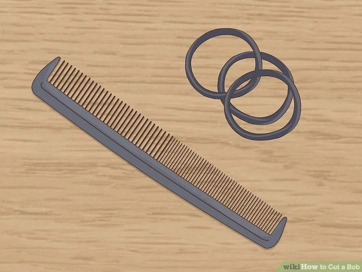 Image titled Cut a Bob Step 3