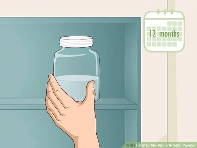 تخزين الخليط في درجة حرارة الغرفة لمدة تصل إلى 12 شهرا