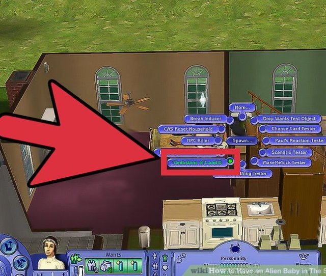 Imageled Get An Alien Baby In The Sims