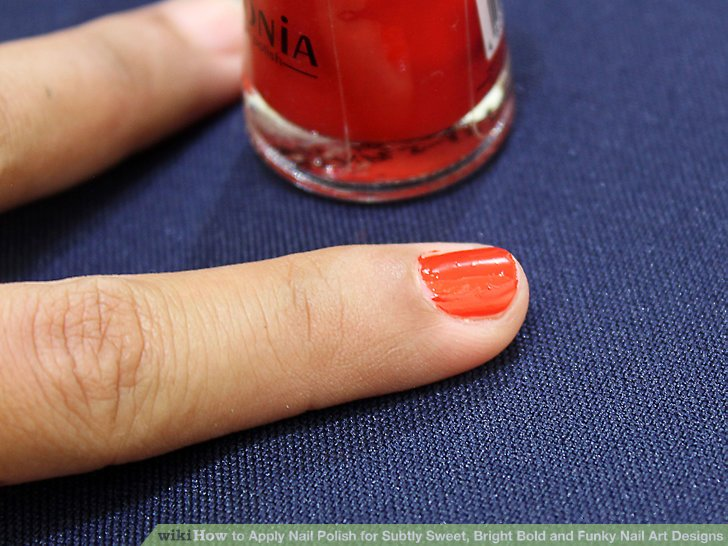 Image Led Apply Nail Polish For Subtly Sweet Bright Bold And Funky Art Designs