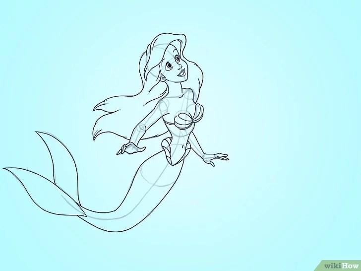 Gambar berjudul Draw Ariel Step 5
