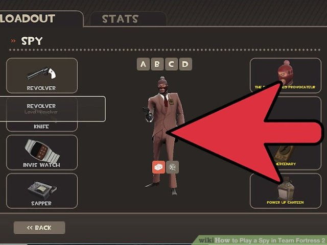 How to Play a Spy in Team Fortress 2  with Pictures    wikiHow Image titled Play a Spy in Team Fortress 2 Step 1