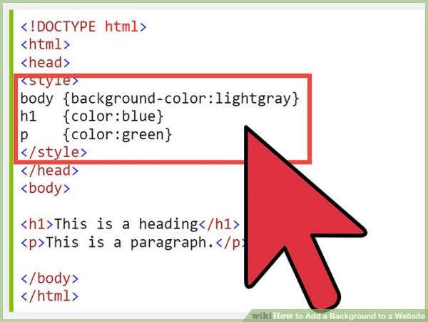How to Add a Background to a Website: 14 Steps (with Pictures)