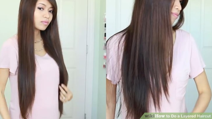 How To Do A Layered Haircut 12 Steps With Pictures