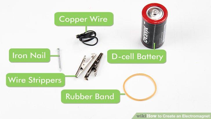 Iron Nail Electromagnet