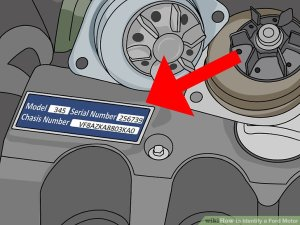How to Identify a Ford Motor: 11 Steps (with Pictures