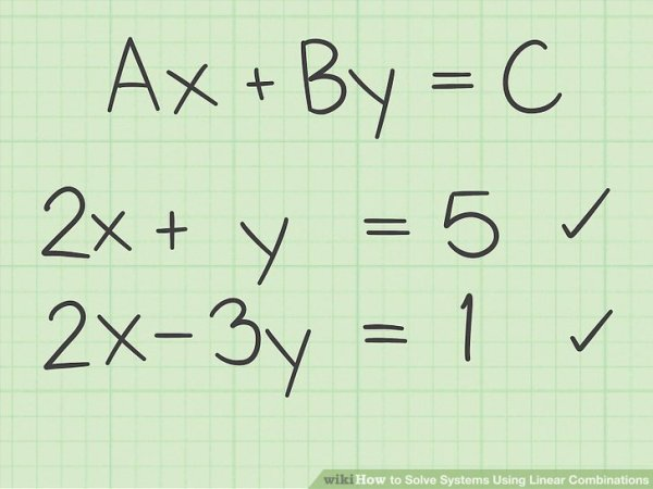 5 Ways to Solve Systems Using Linear Combinations - wikiHow