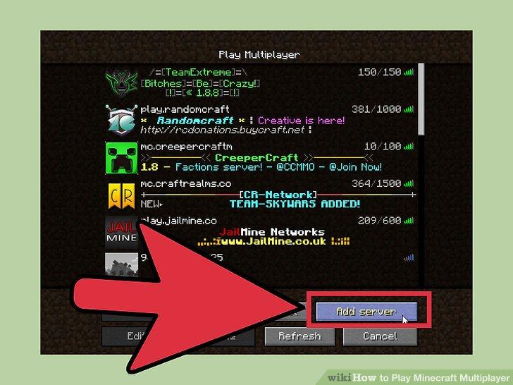 Pe Where Can Minecraft I Find Address Server