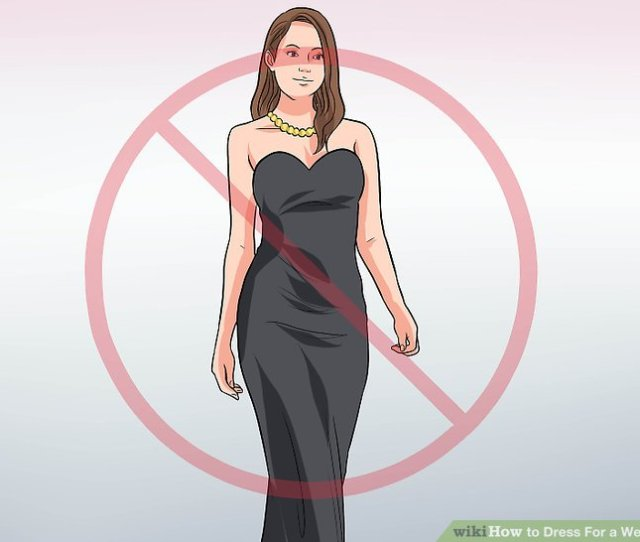 Image Titled Dress For A Wedding Step