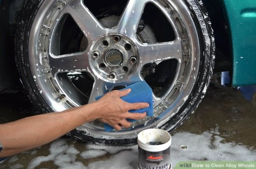 Image Titled Clean Alloy Wheels Step 3