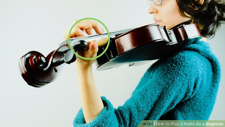 How to Play a Violin As a Beginner: 13 Steps (with Pictures)