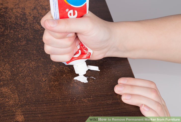 3 Ways To Remove Permanent Marker From Furniture Wikihow