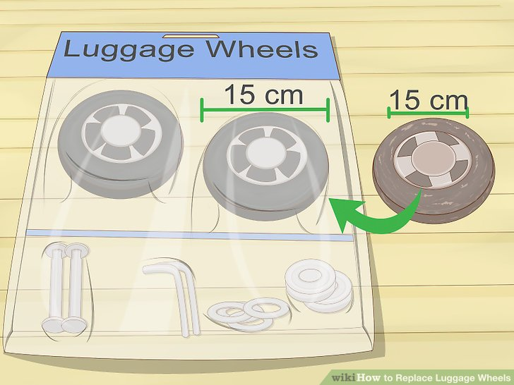 Replace wheel that's the same size and brand