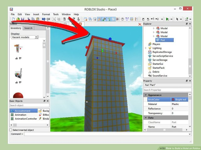 How to Build a Hotel on Roblox: 27 Steps (with Pictures) - wikiHow