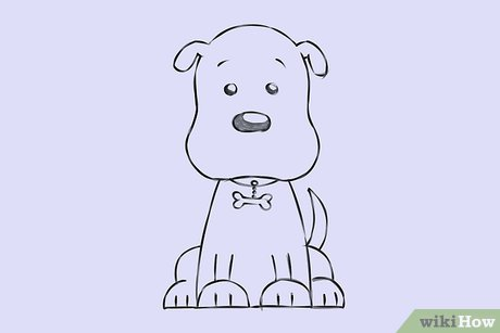 6 Ways To Draw A Cartoon Dog Wikihow