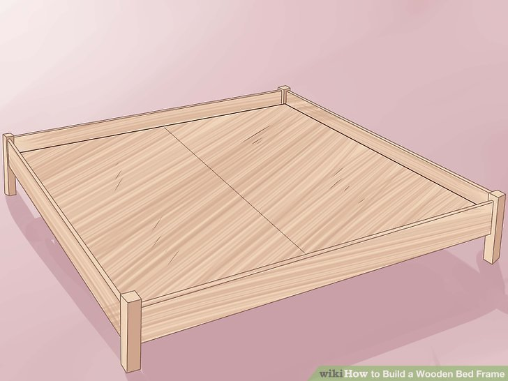 3 Ways To Build A Wooden Bed Frame WikiHow