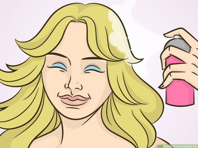 how to do farrah fawcett hair: 14 steps (with pictures) - wikihow