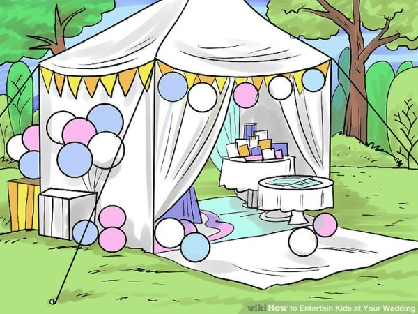 3 Ways to Entertain Kids at Your Wedding - wikiHow